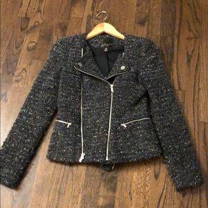 Maginn Tweed Moto Jacket